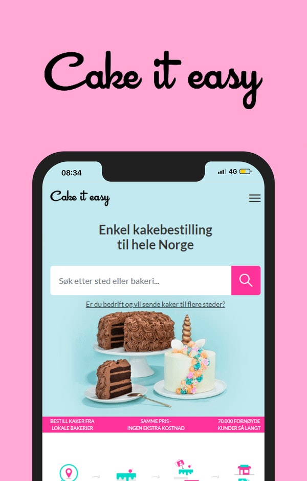 Cake it easy image'
