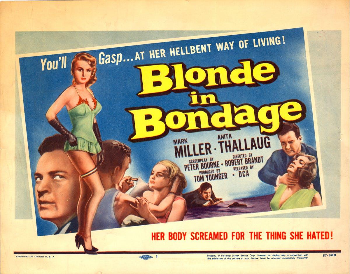 Blonde in Bondage (Blondin i fara) (Sweden, 1957)